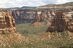 Echi del canyon Fotografie Stock