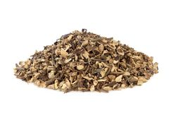 Echinacea Root Herb. Used in alternative herbal medicine to boost the immune system, helps to protect against colds and reduces symptoms and has other Stock Images