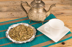 Echinacea tea Stock Image