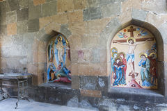 ECHMIADZIN,亚美尼亚- 2016年5月02日:Etchmiadzin修道院 库存照片