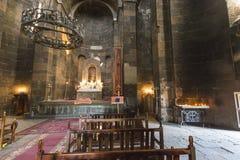 ECHMIADZIN, АРМЕНИЯ - 2-ОЕ МАЯ 2016: Iside армянский апостольский chu стоковые изображения rf