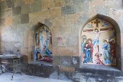 ECHMIADZIN, ARMENIA - MAY 02, 2016: Etchmiadzin monastery Stock Photos