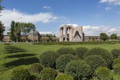ECHMIADZIN, ARMENIA - MAY 02, 2016: Etchmiadzin monastery comple Royalty Free Stock Image