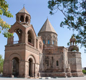 Echmiadzin Cathedral in Armenia Royalty Free Stock Photo