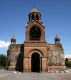 Echmiadzin domkyrka i Armenien royaltyfri foto