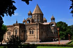 Echmiadzin, Vagharshapat, Armenia Cathedral Royalty Free Stock Photos