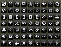 Echo 99. Graphic icons & symbols for designers Stock Images