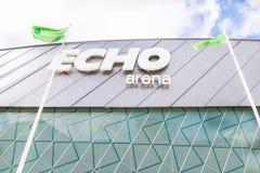 Echo Arena en los reyes Dock, Liverpool, Merseyside Foto de archivo libre de regalías