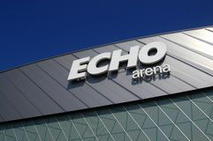 Echo Arena, Liverpool Royalty Free Stock Photos