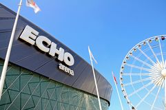Echo Arena, Liverpool. Royalty Free Stock Photography