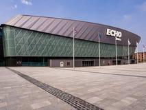 Echo Arena Liverpool Reino Unido Imagen de archivo