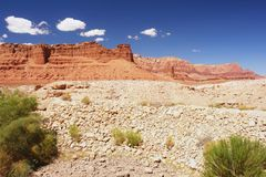 Echo Cliffs, Arizona. View of the Echo Cliffs near the Navajo Bridge, Arizona Stock Image