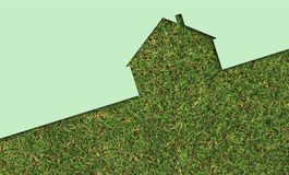 Echo house metaphor. Made in 3d software Stock Images