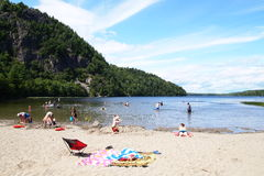 Echo Lake Beach Photos stock