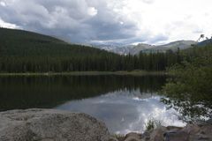 Echo Lake. Colorado on Squaw Pass road Stock Photography