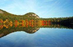 Echo Lake, New Hampshire Royalty Free Stock Photos