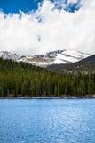 Echo Lake op MT Evans Colorado Royalty-vrije Stock Foto's