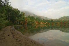 Echo Lake Reflections Stock Photo
