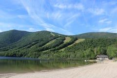 Echo Lake State Park Conway, NH fotos de archivo