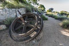 Echo Mtn Railway Ruins Los Angeles Kalifornien lizenzfreie stockfotografie