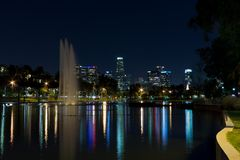 Echo Park, Los Angeles, Kalifornien Stockfotografie