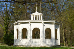 Echo pavilion, Maksimir park at spring time, Zagreb, Croatia Stock Images