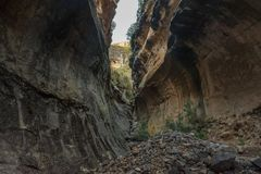 Echo Ravine at Golden Gate in the Free State Province Royalty Free Stock Photo