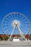 The Echo Wheel of Liverpool. Royalty Free Stock Images