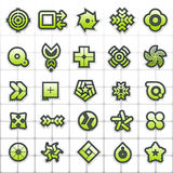 Echo WOW. Graphic icons & symbols for designers Royalty Free Stock Photos