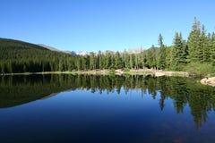 echowy jezioro Fotografia Stock