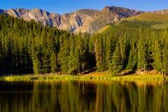 echowy jezioro zdjęcia royalty free
