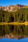Echowy jezioro II obrazy stock