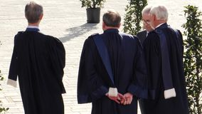 ECHR судит ждать президента француза Emmanuel Macron видеоматериал
