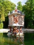Echt DE La Granja, Segovia van Palacio (Spanje) Stock Foto's