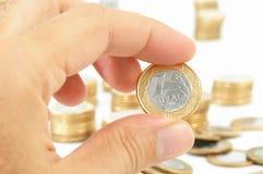 Echt Geld Stock Foto's