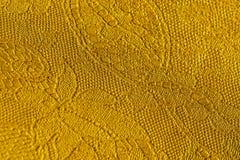 Echt leer met een abstract ornament Close-up op een leertextuur Voor modern patroon, behang of bannerontwerp Royalty-vrije Stock Afbeelding