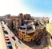 Echt oud Kaïro Stock Foto