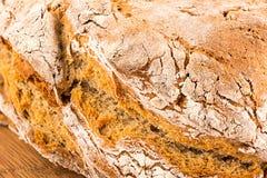 Echt rustiek brood Royalty-vrije Stock Foto's