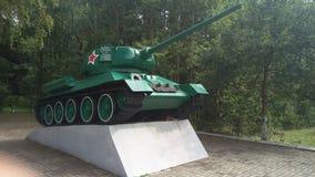 Echt Tankmonument Stock Foto's