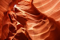 Echte beelden van de lagere Antilopecanion in Arizona, de V.S. Royalty-vrije Stock Afbeeldingen