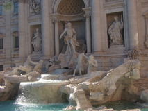 Echte fontana van trevi Royalty-vrije Stock Fotografie