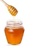 Echte honing Royalty-vrije Stock Afbeeldingen