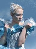 Echte ijskoningin stock foto