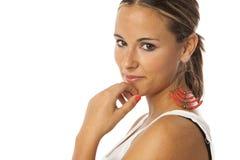 Echte jonge mooie vrouw Royalty-vrije Stock Foto's