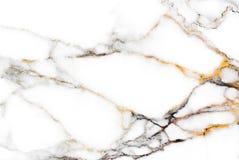 Echte marmeren textuurachtergrond, Gedetailleerd echt marmer van aard Royalty-vrije Stock Afbeeldingen