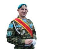 Echte Russische Krachtenmilitair In de lucht Royalty-vrije Stock Afbeeldingen