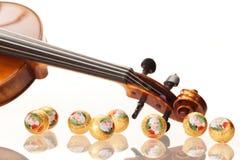 Echte Salzburger Mozartkugeln vid Mirabell Royaltyfri Fotografi