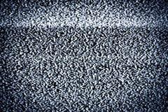 Echte statische TV stock afbeelding