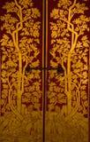 Echte Thaise stijl, craftman verf Royalty-vrije Stock Afbeeldingen