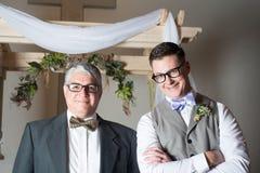 Echtgenoot en Schoonvader Royalty-vrije Stock Afbeeldingen